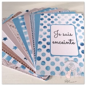 Cartes Étapes Grossesse – Collection Hygge
